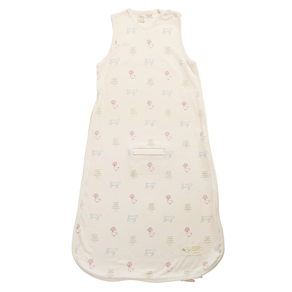 Nature Baby Cotton Sleeping Bag Nature Baby Print
