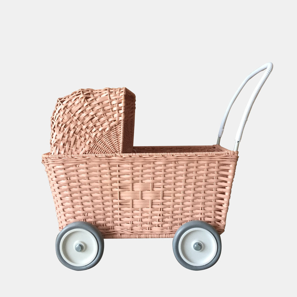Olli Ella Strolley Pram Rose