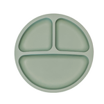 Petite Eats Suction Plate Olive