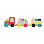 Le Petit Collage Animal Friends Wooden Train