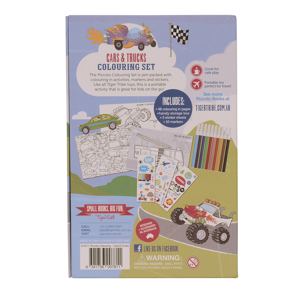 Colouring Set Cars & Trucks