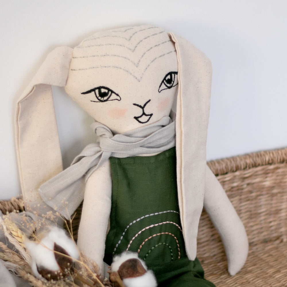 Burrow & Be Bunny Doll Winslow Pine