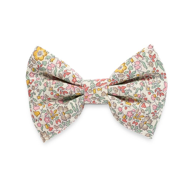 Georgie Single Bow Clip Liberty Spring Flowers