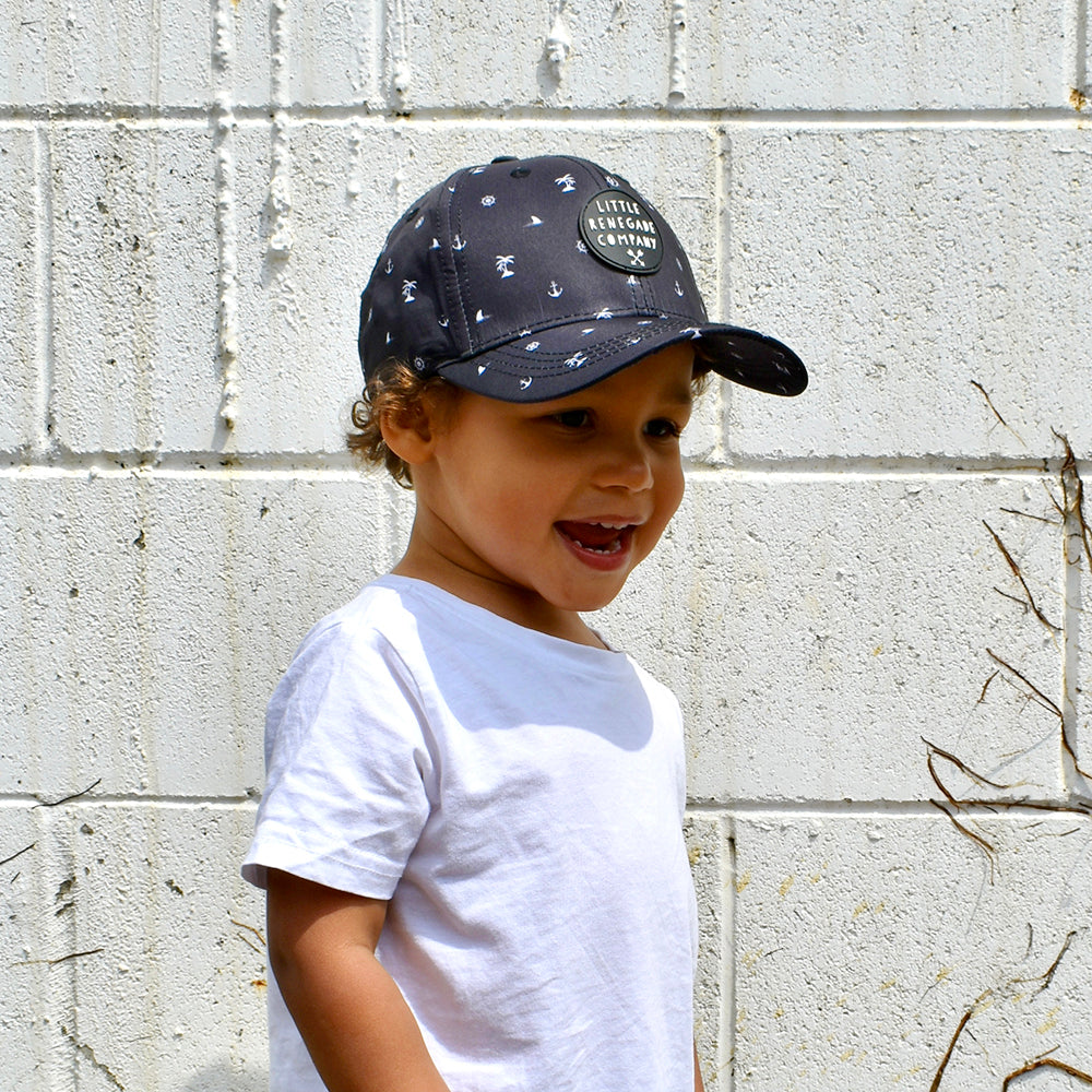 Little Renegade Company Sea Baseball Cap