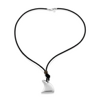 Bo & Bala Shark Fin Necklace