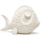 Bath Toy Natural Rubber Big Fish Cream