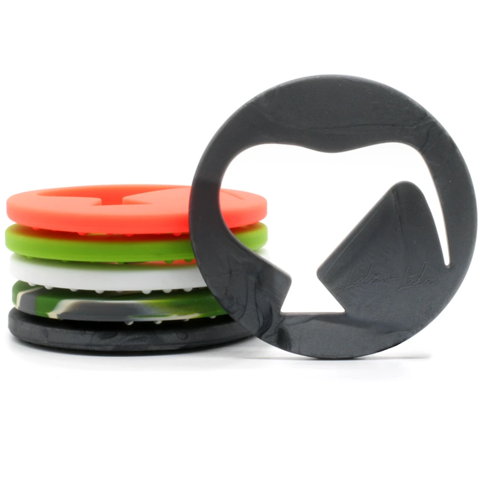 Lulu + Lala Teether Leewi Metallic Black