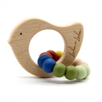 Lulu + Lala Teether Tweet Woodland