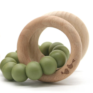 Lulu + Lala Teether Lenni Khaki