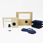 Camden Co. Therapy Wheat Bag Gift Set Navy Velvet