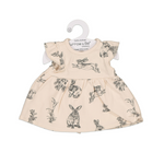 Burrow & Be Doll Clothing Almond Burrowers Dress