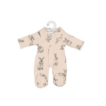Burrow & Be Doll Clothing Almond Burrowers Sleep Suit