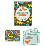 Le Petit Collage Trivia Cards Dinosaurs