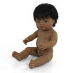 Miniland Anatomically Correct Baby Doll 38cm Hispanic Boy
