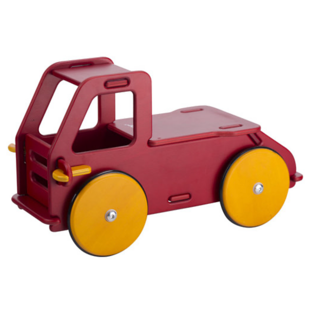 Moover Ride-On Truck Red