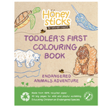 Honeysticks Colouring Book - Endangered Species