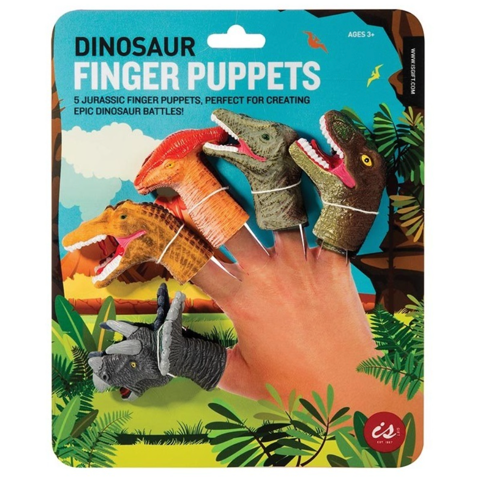 Dinosaur Fingers Puppets