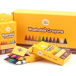 JarMelo Washable Crayons  12 Colours