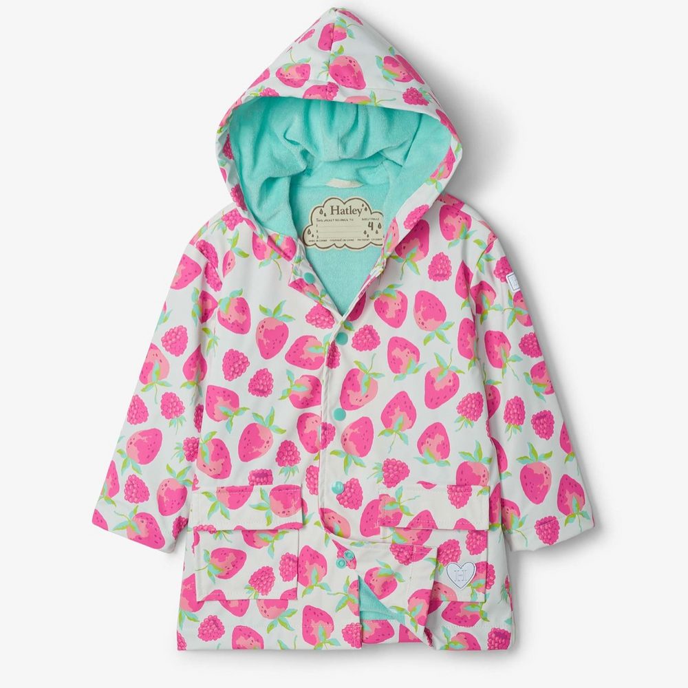 Hatley Delicious Berries Raincoat