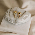 Silver Linings Collective Horizon Earrings Gold