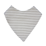 Mister Fly Dribble Bib Grey Stripe