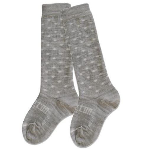 Lamington Baby Merino Knee High Socks Snowflake (Last Size Prem)
