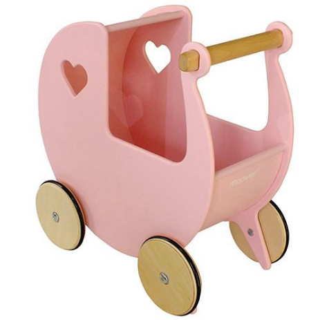 Moover Doll Pram Light Pink