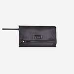 Tiba + Marl Etta Change Clutch Black Snake
