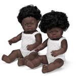 Miniland Anatomically Correct Baby Doll 38cm African Boy