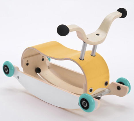 Wishbone Mini Flip Mix & Match Step 3: Wheels