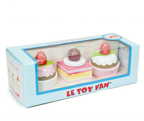 Le Toy Van Three Cupcakes