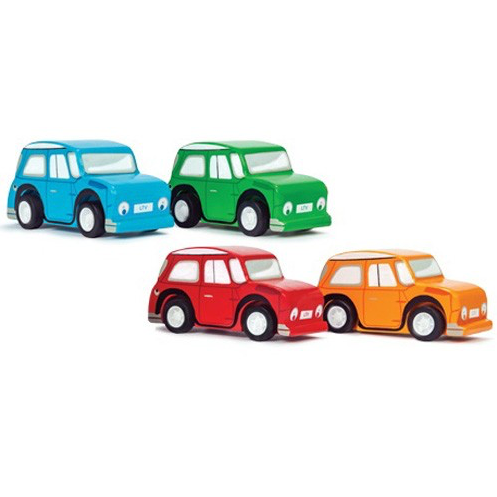 Le Toy Van Whiz Pull Back Cars