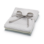 CAM CAM Organic Muslin Cloths 3 Pack Grey