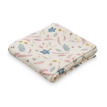CAM CAM Organic Muslin Cloth Pressed Leaves Rose