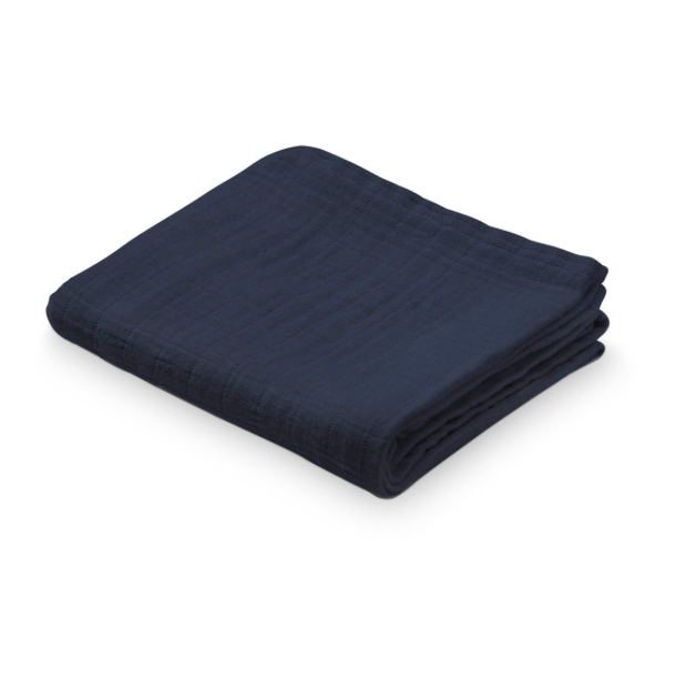 CAM CAM Organic Muslin Cloth Navy