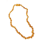 Nature Baby Amber Teething Necklace Honey