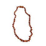 Nature Baby Amber Teething Necklace Cognac