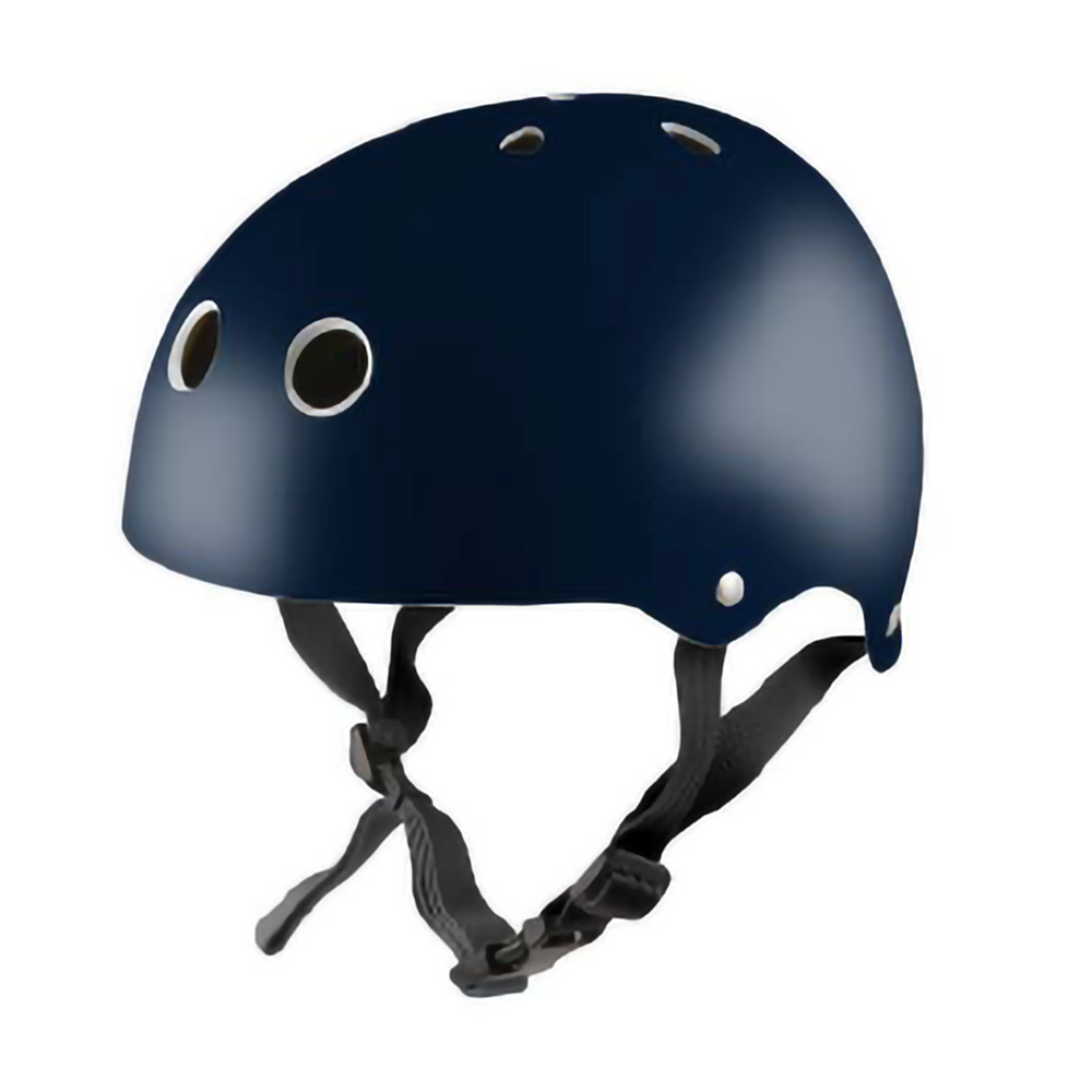 Kiddimoto Helmet Metallic Navy