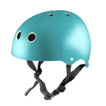 Kiddimoto Helmet Metallic Teal