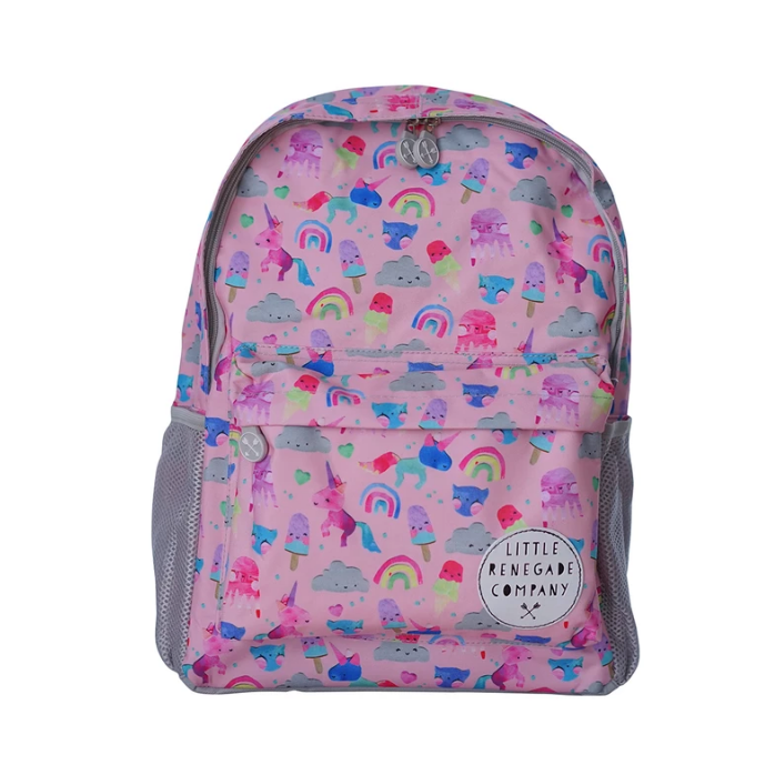 Little Renegade Unicorn & Friends Backpack Midi
