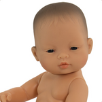 Miniland Anatomically Correct Baby Doll 32cm Asian Girl