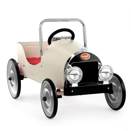 Baghera Pedal Car White