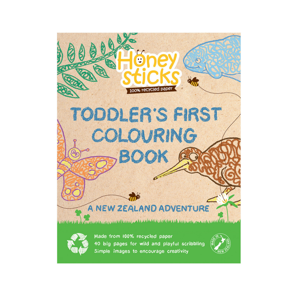 Honeysticks Colouring book - A New Zealand Adventure