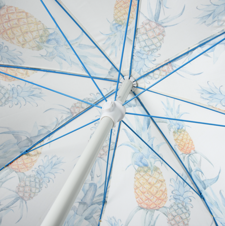 Basil Bangs Beach Umbrella Ananas