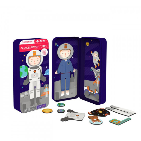 Magnetic Puzzle Box Space Adventurer