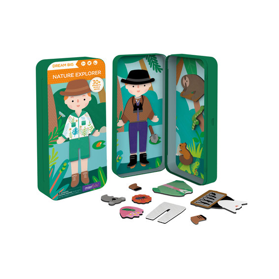 Magnetic Puzzle Box Nature Explorer
