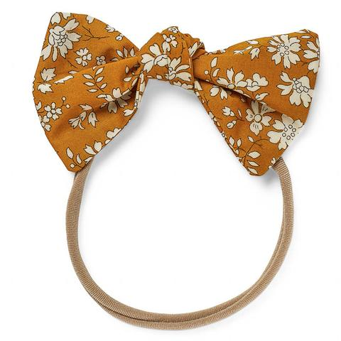 Lucille Bow Elastic Capel Mustard