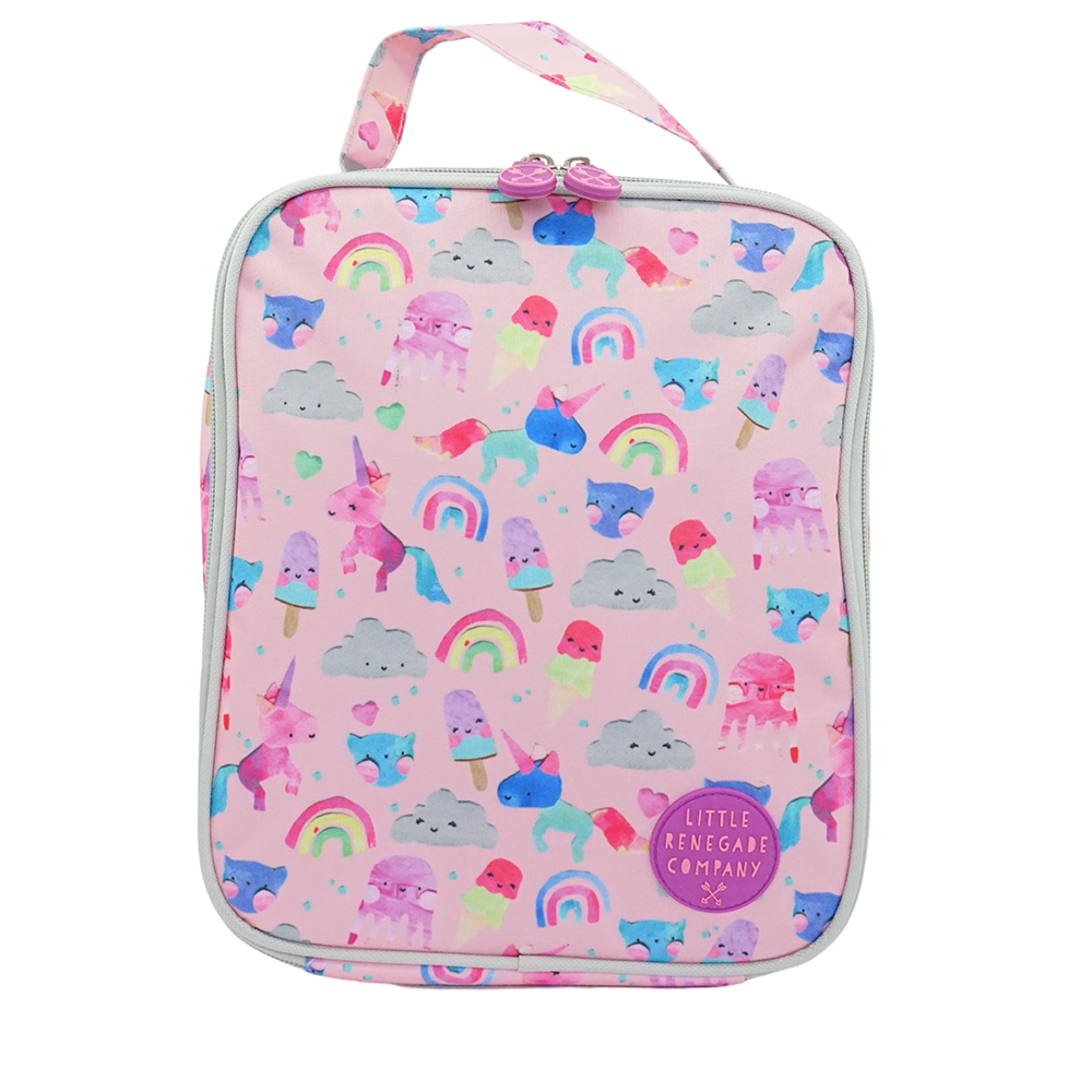 Little Renegade Unicorn and Friends Insulated Lunch Bag