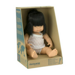 Miniland Anatomically Correct Baby Doll 38cm Asian Girl