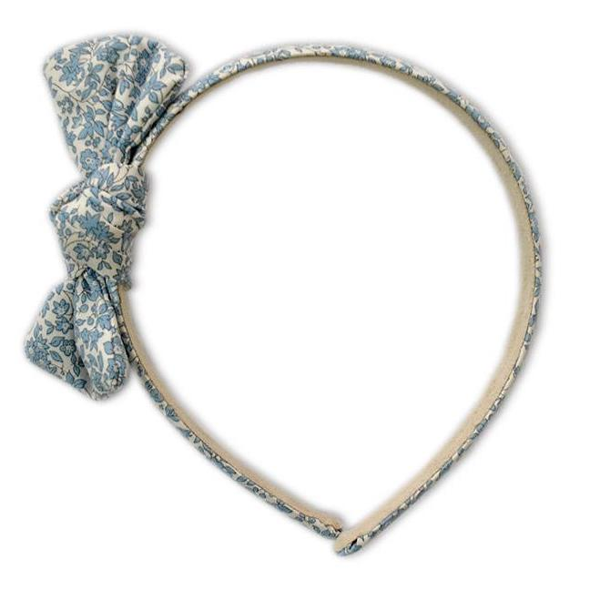 Zoe Headband with Bow Liberty Chamomile